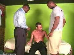 White guy vidz deepthroating huge  super black cocks