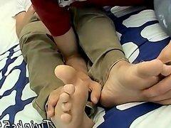 Cum on vidz my teen  super boy feet and white teen gay