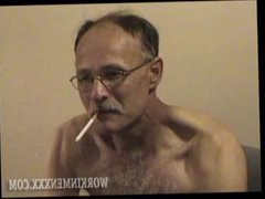 Homemade Video vidz of Mature  super Amateur Steve Jacking Off