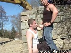 Gay grandpa vidz fuck outdoors  super Men At Anal Work!