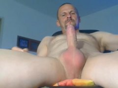 Daddy Wanking vidz His Nice  super Cock And Cum