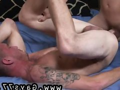 Straight boys vidz in socks  super gay Reaching behind,