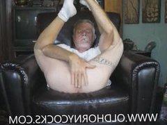 Draining His vidz Balls