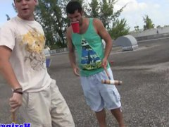College students vidz humiliating outdoor  super hazing