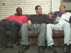 Black men vidz sharing a  super funny white guy