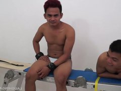 Gay Asian vidz Twink Willy  super Gets Tickled