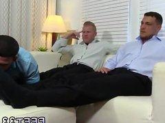 Gay sexy vidz feet with  super dicks Ricky Worships