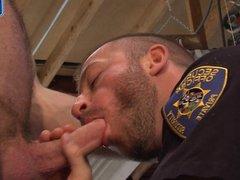 Officer Hunter vidz Marx Poses  super For Jesse Ares!
