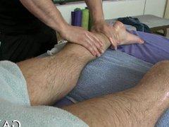 Massaging throat vidz with cock