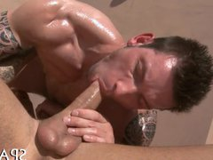 Pleasuring a vidz lusty gay  super stud