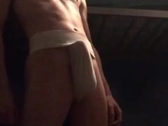 jockstrap twink vidz wanks hard  super dick
