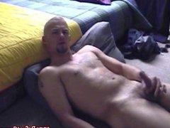 Muscled straight vidz hunk pleasures  super himself