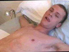 Boy gets vidz for sweet  super bedtime hj by sugar daddy