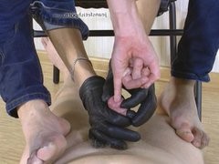 Masters play vidz with slaves  super dick