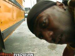 Black gangster vidz ass fucked