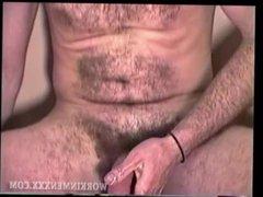 Amateur Mature vidz Man Mike  super Jacks Off and Cums