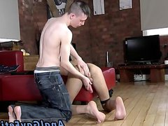 Teens gay vidz porno film  super Oli is about to be