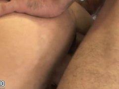 Hunk gays vidz goes hard  super on fucking that ass