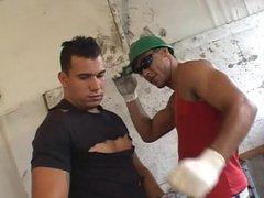 Brazilian Gay vidz on construction  super lunch break