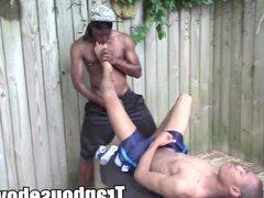Thugs on vidz ass licking  super and blowjob