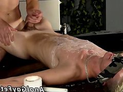 Teenage boy vidz gay blowjobs  super Splashed With Wax