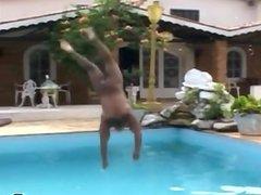 Black Muscled vidz Gay Fuck  super The Pool Maintenance