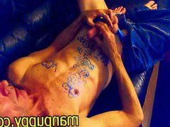 Manpuppy - vidz Gay DILF  super Body Drawing Fetish Cum
