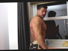 Muscular Window vidz Cleaner Jerk  super Off