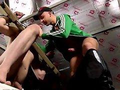 Webcams gay vidz Deacon plunges  super that tight