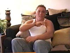 Muscular straight vidz hunk wanking  super off