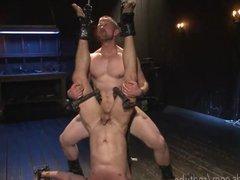 Metal Bondage vidz Anal Torture