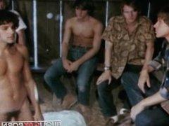 Vintage Group vidz Scene -  super SEVEN IN A BARN (1971)