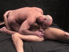 Hot beard vidz daddy bareback  super with his son