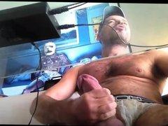 Hung Daddy vidz Jerking Fat  super Cock
