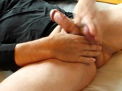 Spanked balls vidz beaten to  super hands free orgasm HFO