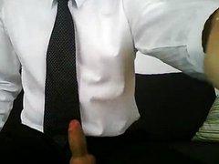 Cum On vidz My Suit  super Trousers