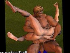 3D Fantasy vidz Boys and  super Muscled Dudes!