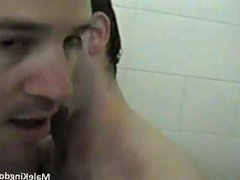 Horny brunette vidz fag sucking  super a massive