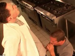 Naughty gays vidz screwing asses  super in the kitchen
