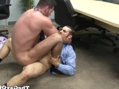 Gaysex suits vidz jizz after  super giving horny advice