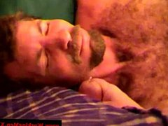Mature straight vidz bear dilf  super gets a facial
