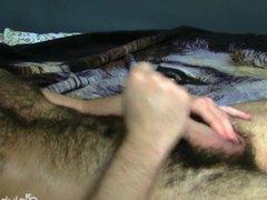 Tattooed Straight vidz Guy Adam  super Masturbating