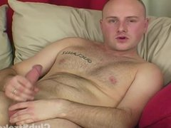 Bald Straight vidz Guy Rock  super Wanking His Big Prick