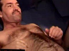 Masturbating gay vidz guy receives  super a facial