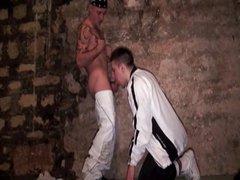 College guy vidz meets a  super street thug in dungeons