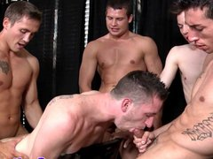 Hardcore gay vidz orgy with  super Hayden Richards