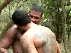 Muscular Gay vidz Hardcore Anal  super Fucking In The Woods