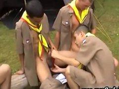 Hot Twink vidz Boy Scout  super Measuring Contest