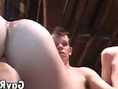 Three Horny vidz Guys Enjoying  super Bareback