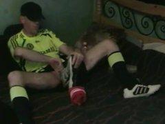 Irish Soccer vidz Jerk-Off